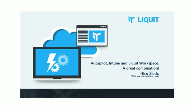 Autopilot, Intune and Liquit Workspace, a great combination!