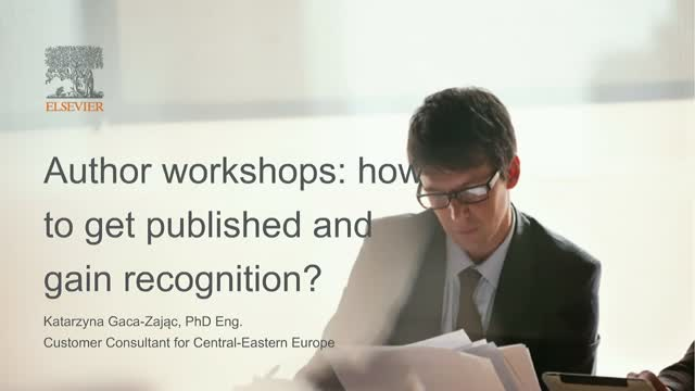 Author workshops: how to get published and gain recognition?