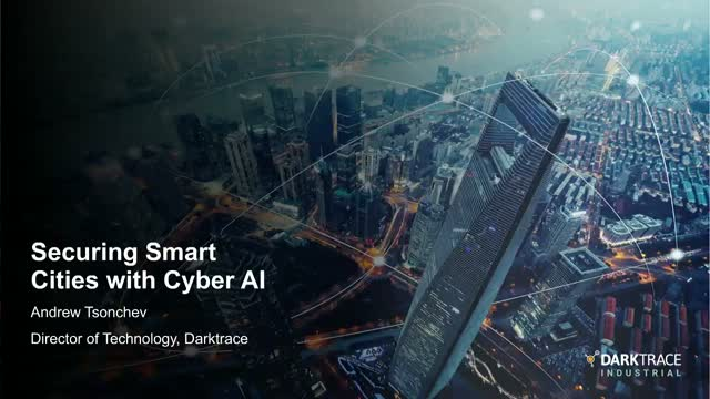 Securing Smart Cities with Cyber AI