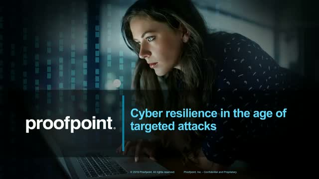 Cyber Resilience in the age of Targeted Attacks