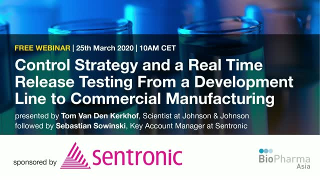 Control Strategy and a Real Time Release Testing From a Development Line to...