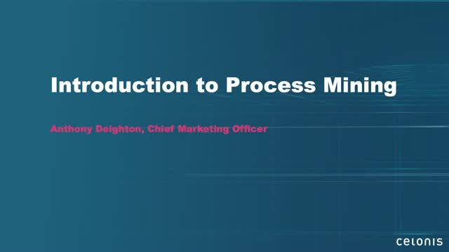 Introduction to Process Mining