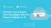 Unleash Fast Insights from Snowflake with the Power of Search & AI
