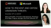Microsoft and Morphisec: How to Prevent and Expose Unknown Threats
