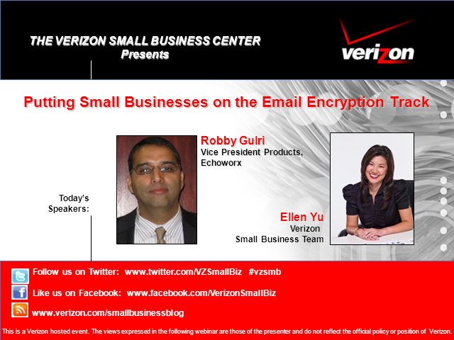 Putting Small Businesses on the Email Encryption Track