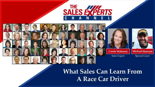 What Sales Can Learn From A Race Car Driver