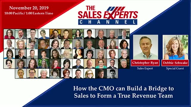 How the CMO can Build a Bridge to Sales to Form a True Revenue Team