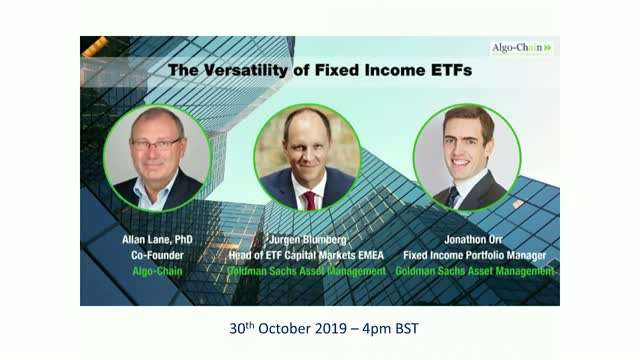 The ETF Weekly Update: The Versatility of Fixed Income ETFs