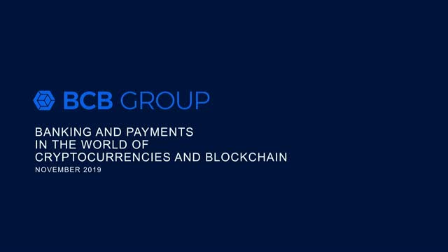 Banking and Payments in the World of Cryptocurrencies and Blockchain