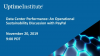 Data Center Performance: An Operational Sustainability Discussion with PayPal