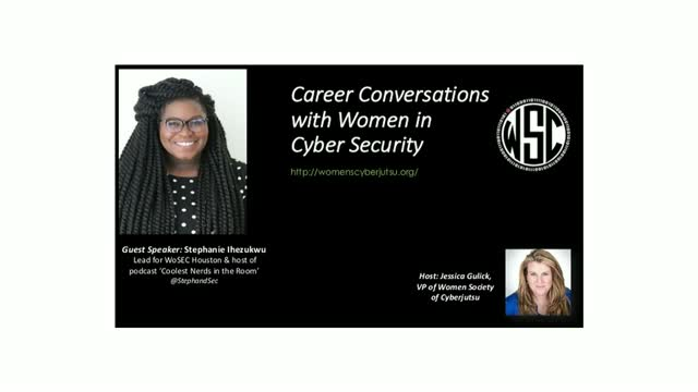 Career Conversations with Stephanie Ihezukwu