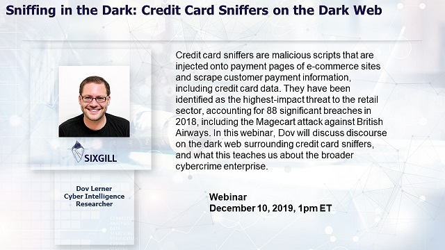Sniffing in the Dark: Credit Card Sniffers on the Dark Web