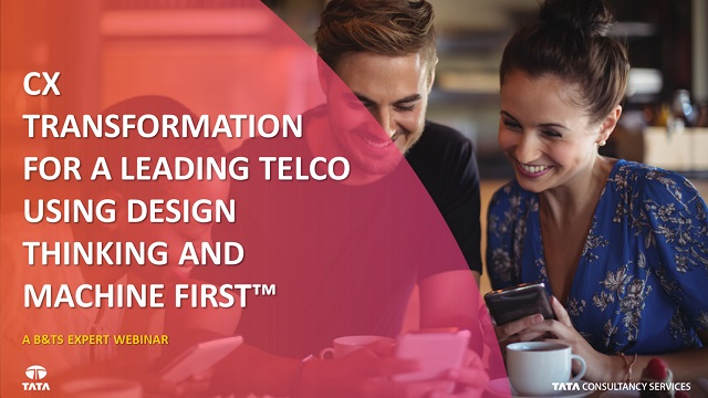 CX Transformation for a Leading Telco Using Design Thinking and Machine First™