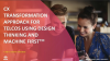 CX Transformation Approach for Telcos Using Design Thinking and Machine First™