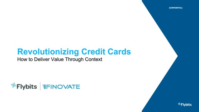 Revolutionizing Credit Cards: How to Deliver Value Through Context