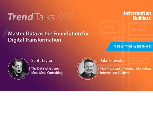 Trend Talks: Master Data as the Foundation for Digital Transform