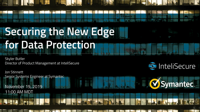 Securing the New Edge for Data Protection