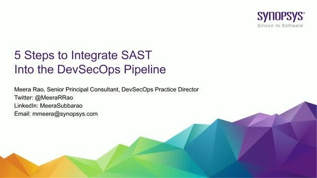 5 Steps to Integrate SAST into the DevSecOps Pipeline