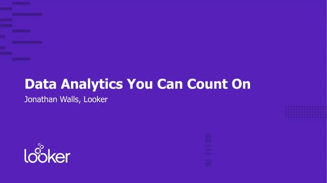 Discover Data Analytics You Can Count On for Banking & Finance