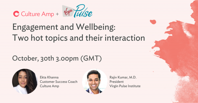 Employee Engagement & Wellbeing in partnership with Virgin Pulse