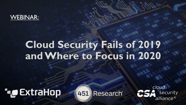 Cloud Security Fails of 2019 and Where to Focus in 2020