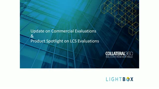 Update on Commercial Evaluations