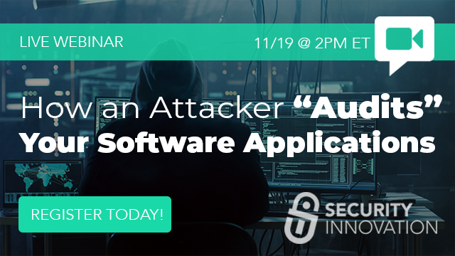 """How an Attacker """"Audits"""" Your Software Applications"""