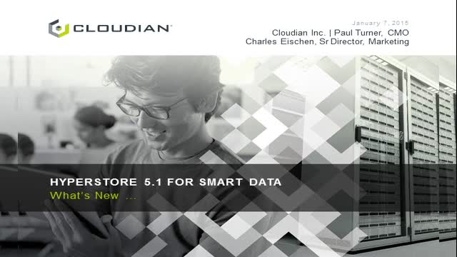 Cloudian HyperStore – Efficient, Scalable Storage For The Internet of Things