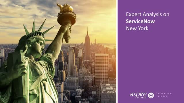 Expert Analysis on ServiceNow New York: Mobile, DevOps & Predictive Intelligence