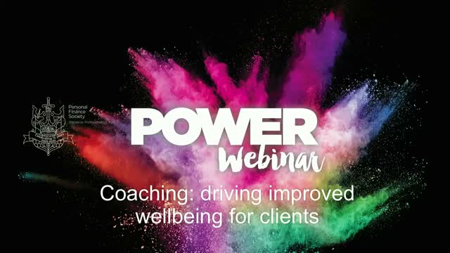 Coaching; driving improved wellbeing for clients