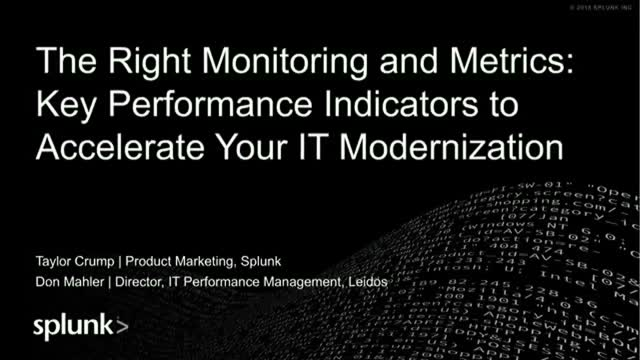 Key Performance Indicators to Accelerate Your IT Modernization