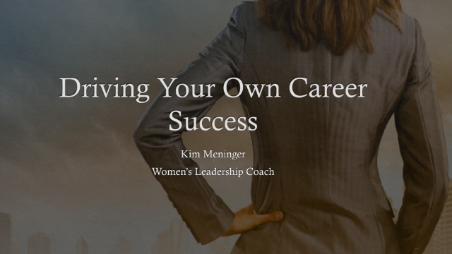 Driving Your Own Career Success