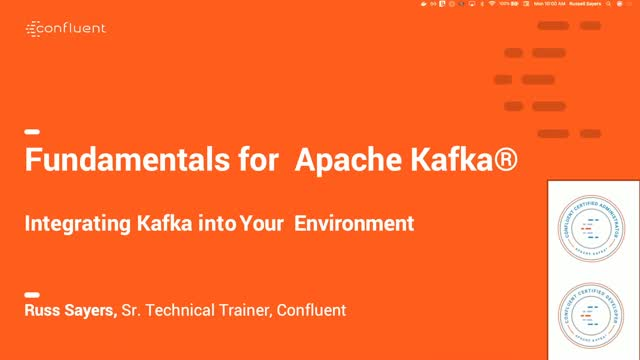 Integrating Apache Kafka Into Your Environment