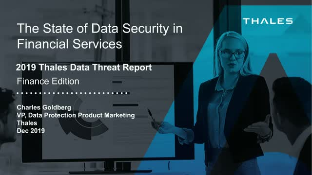 The State of Data Security in Financial Services