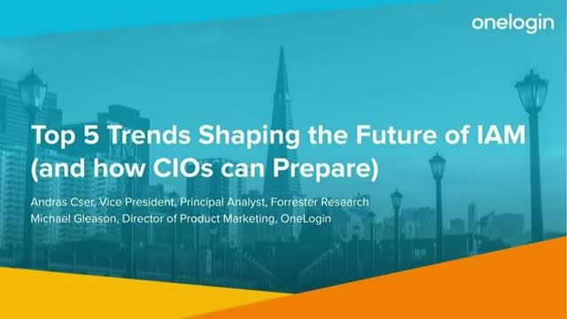 Top 5 Trends Shaping the Future of IAM (and How CIOs Should Prepare)