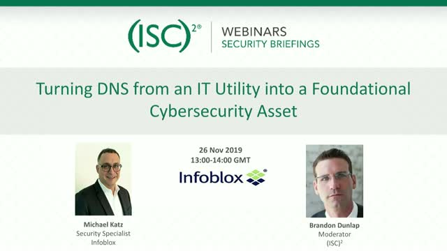 Turning DNS from an IT Utility into a Foundational Cybersecurity Asset