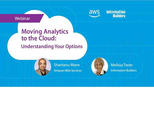 Moving Analytics to the Cloud: Understanding Your Options