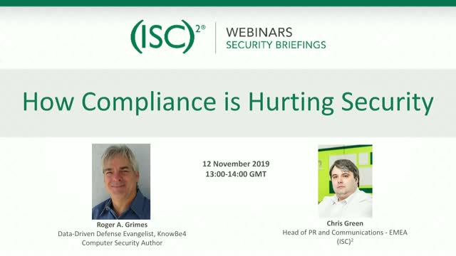 How Compliance Is Hurting Security