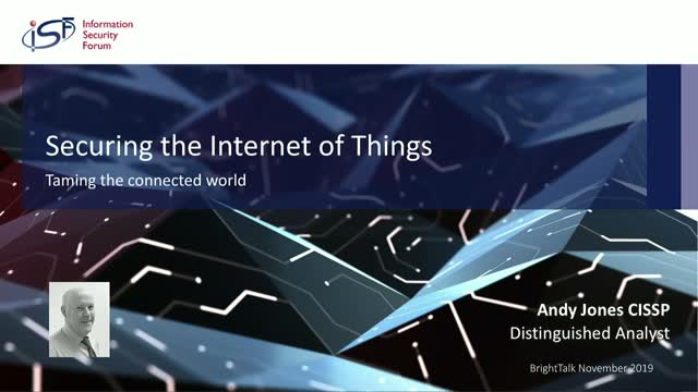 Securing the IoT: Taming the Connected World