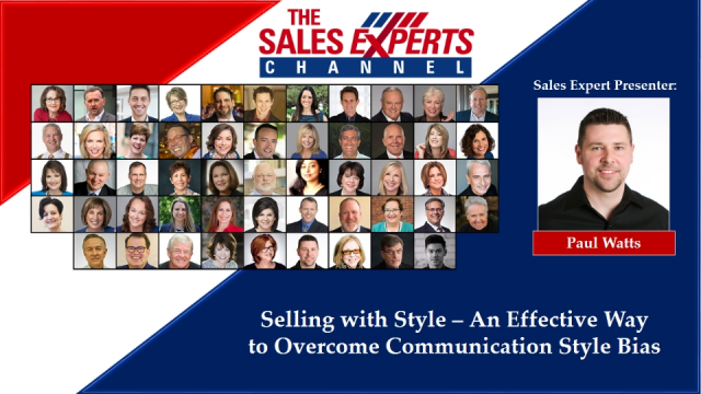 Selling with Style – An Effective Way to Overcome Communication Style Bias