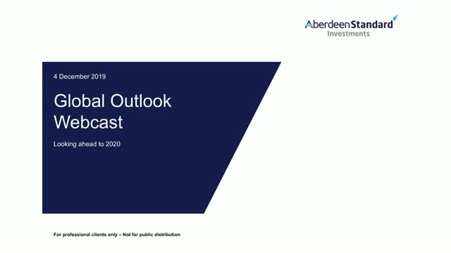 Global Outlook Update Q4 2019