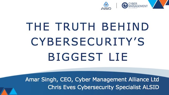 The Truth Behind Cybersecurity's Biggest Lie