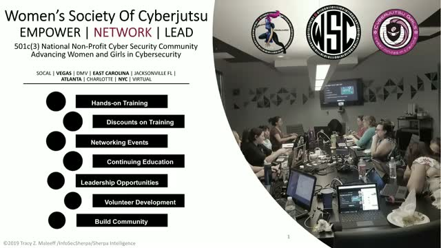 Introduction to OSINT with Tracy Z Maleeff