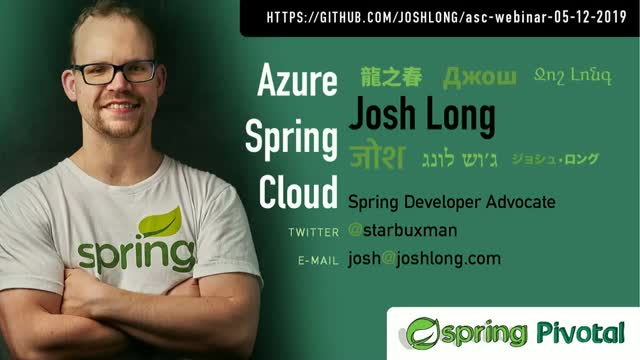 Introducing Azure Spring Cloud—A Managed Runtime for Spring-Based Apps