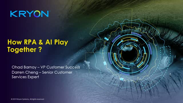 Combining the Power of RPA & AI