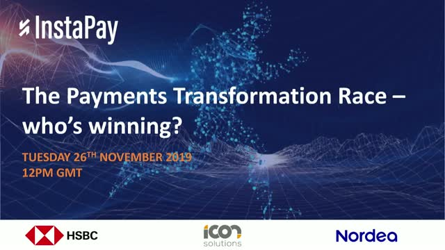 The Payments Transformation Race - who's winning?