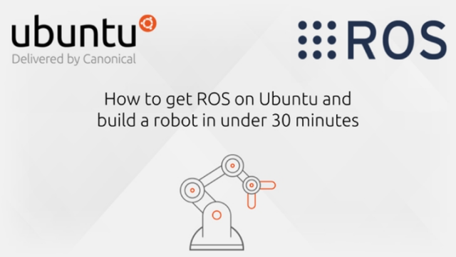 ROS tutorial: How to get ROS on Ubuntu and build a robot in under 30 minutes