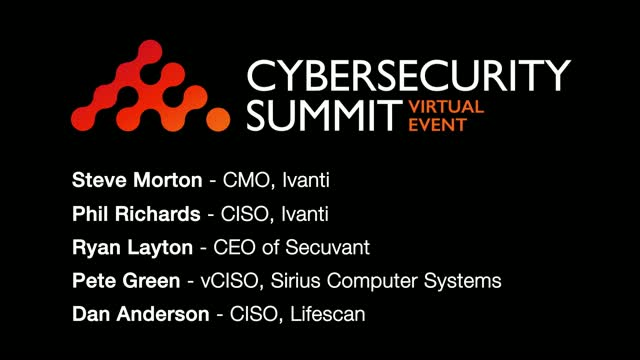 CISO Panel Discussion: The Current and Future of IT Security Strategy