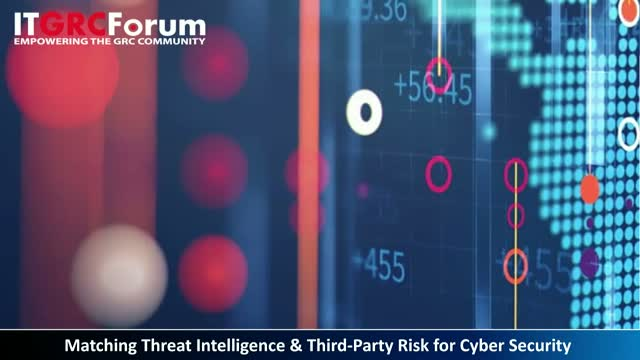 Matching Threat Intelligence & Third-Party Risk for Cyber Security