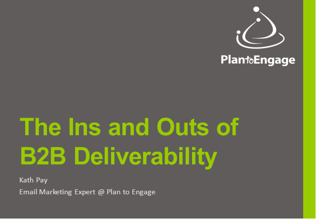The Ins and Outs of B2B Email Deliverability